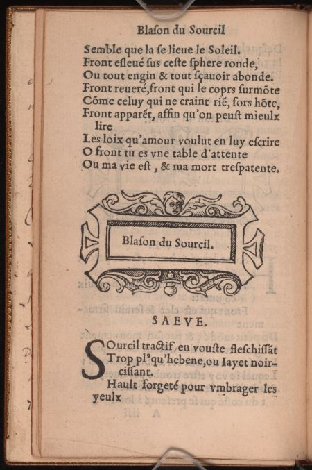Blasons. a4.v Sourcil