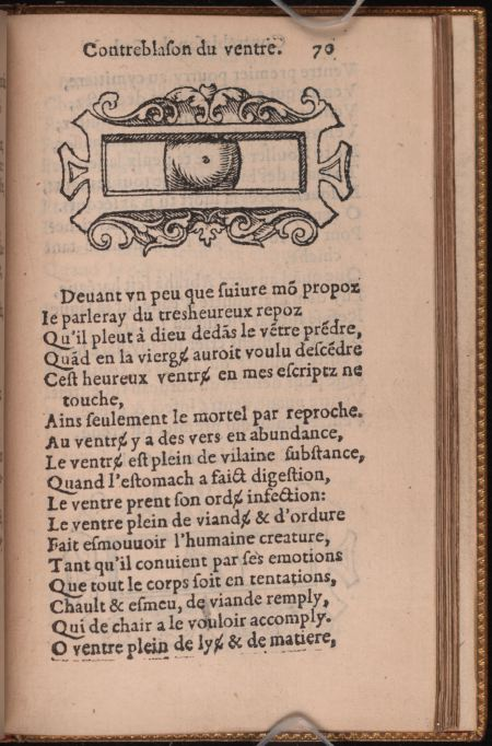 Contreblasons. p070. Ventre