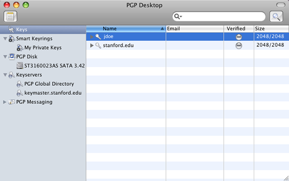 IT Services: Install PGP Whole Disk Encryption for Mac