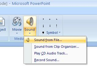 Image result for power point sound