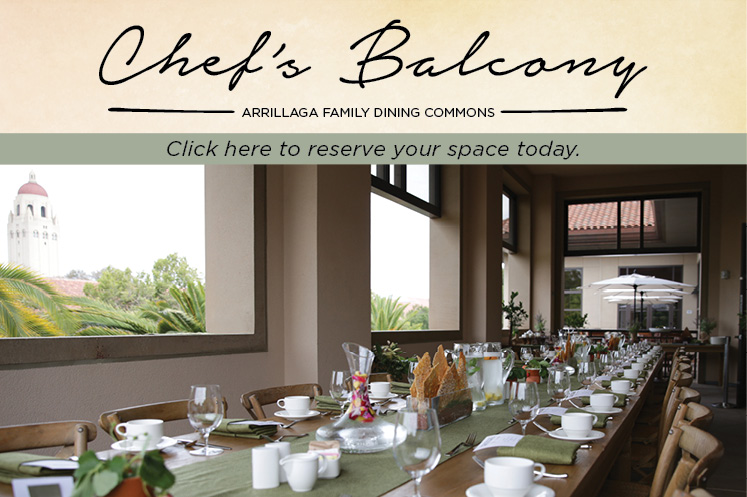 Chef's Balcony at Arrillaga Family Dining Commons