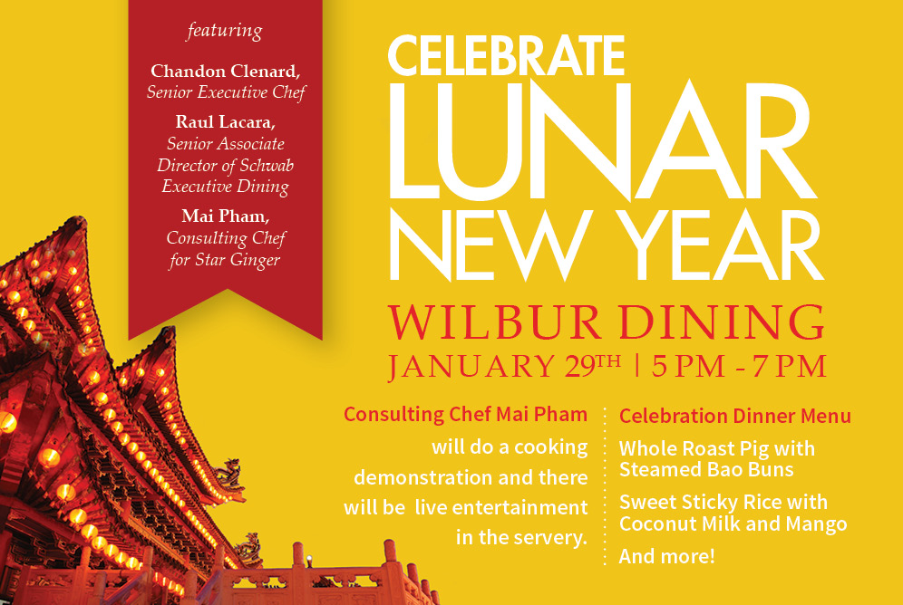Lunar New Year Celebration at Wilbur Dining