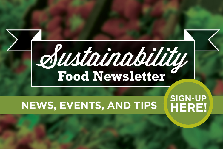 Sustainable Food Newsletter