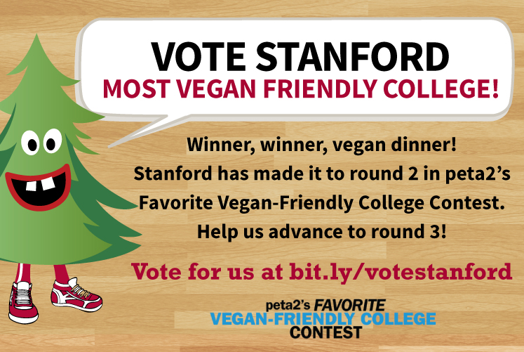 Stanford Dining most vegan-friendly