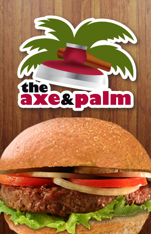 Axe and Palm Burger