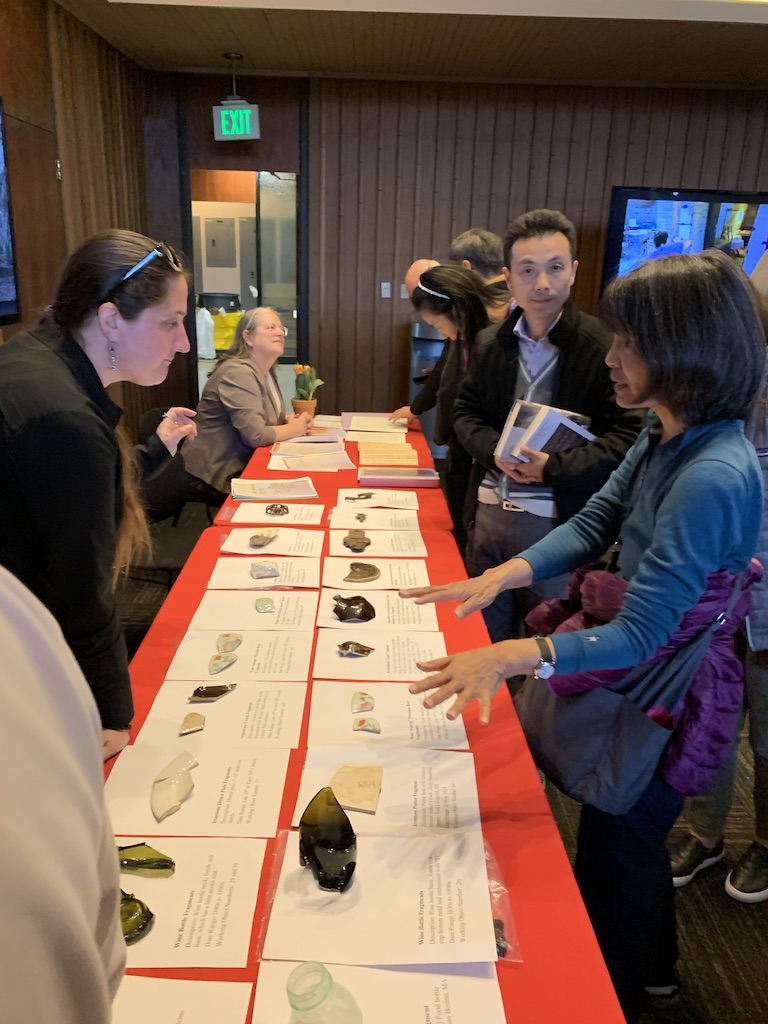 Archaeology Research Table — CRRW Event – Stanford – 4-11-19