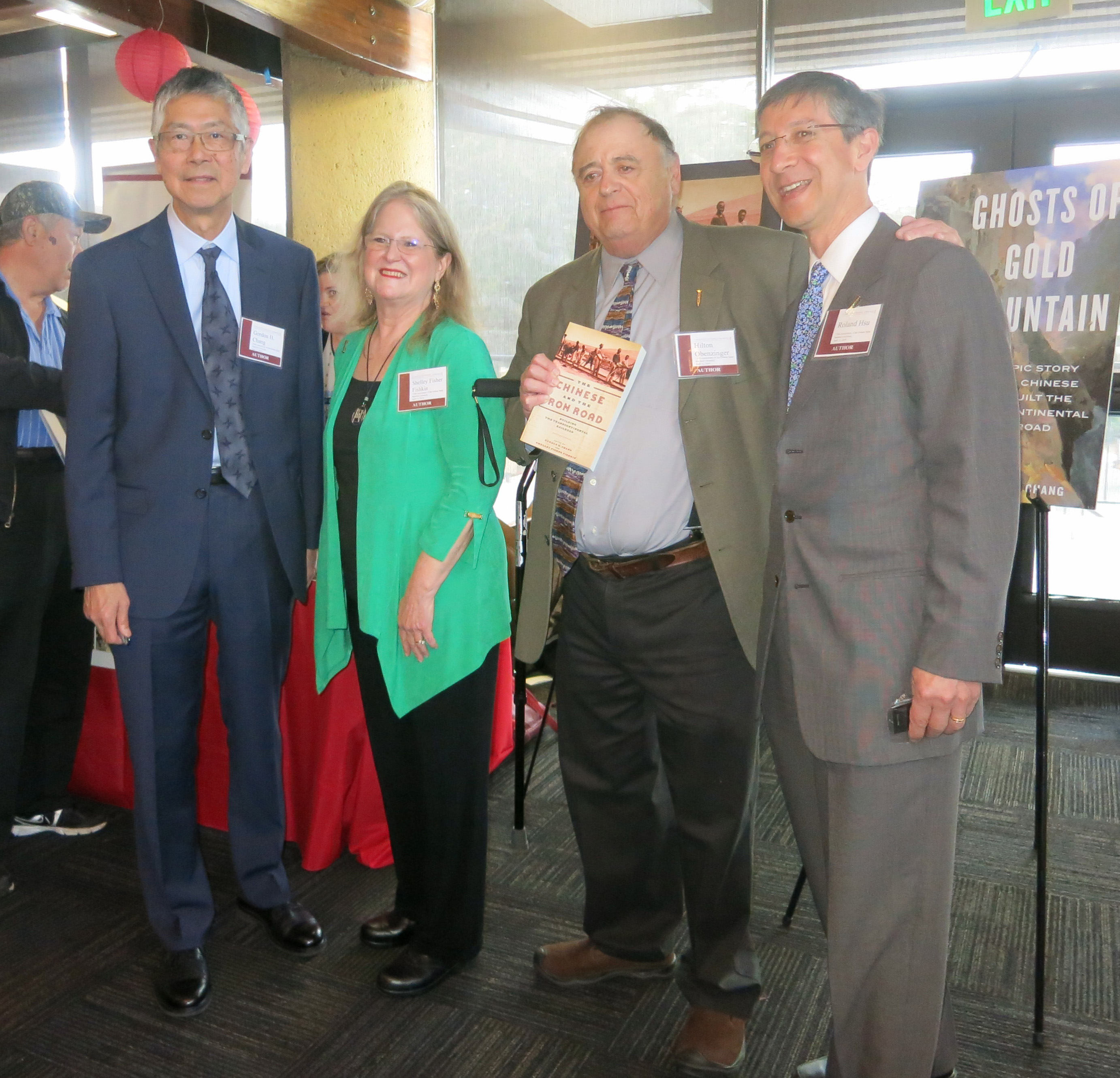 Gordon Chang-Shelley Fisher Fishkin-Hilton Obenzinger-Roland Hsu2–CRRW Event-Stanford-4-11-19