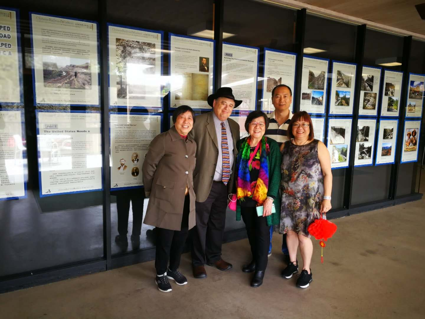 Historical Photo Exhibit with artist Li Ju and Hilton Obenzinger-Monica Yeung Arima–CRRW Event-Stanford-4-11-19