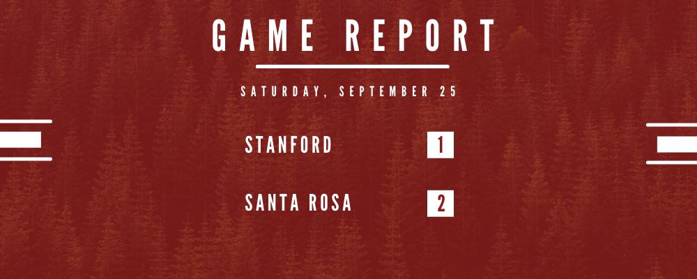 Stanford Falls to Santa Rosa 2-1 in Season Opener