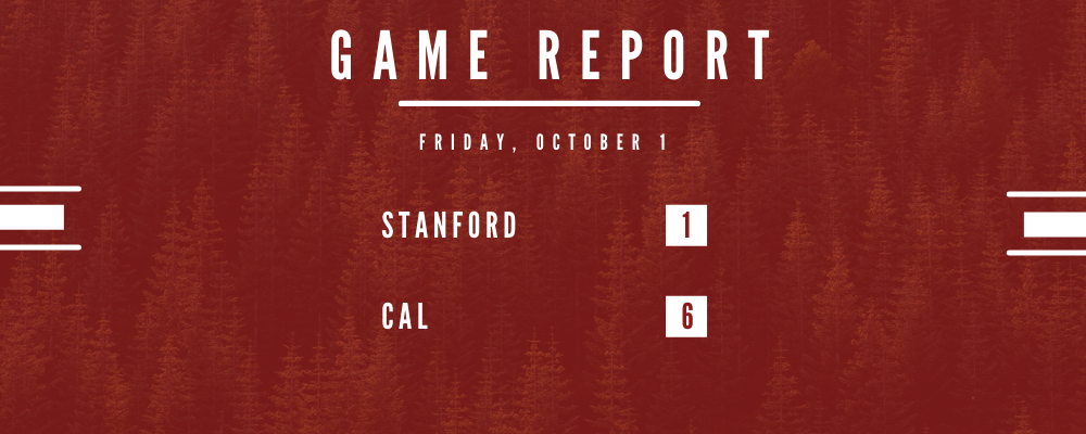 Stanford Bested by Cal in First PAC-8 Appearance