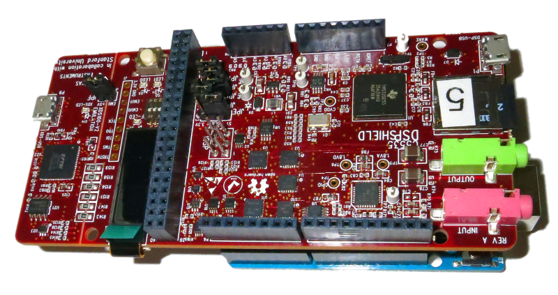 Kovacs Lab - DSP Shield