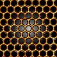 molecular graphene under strain