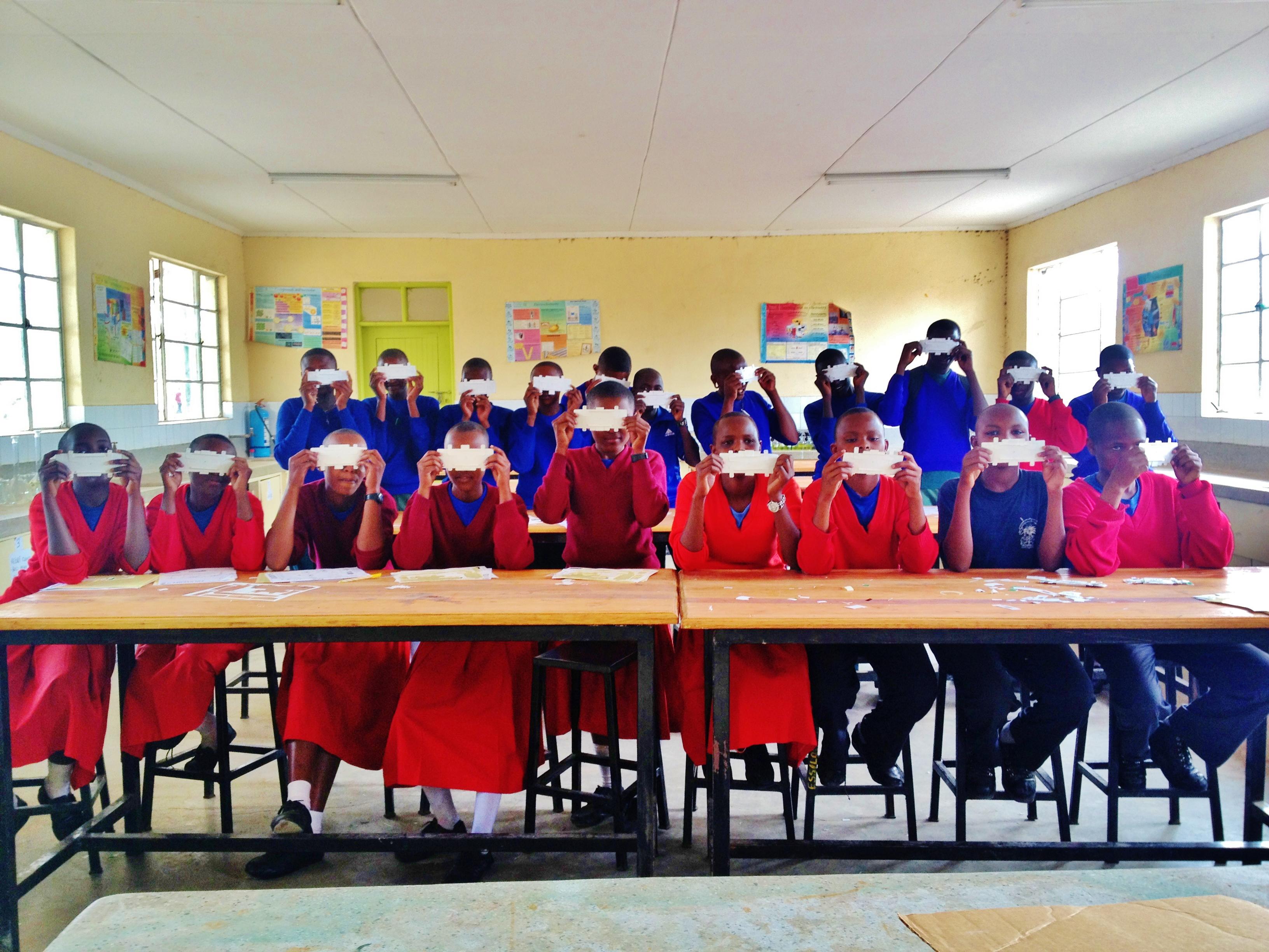Foldscope and the Masai