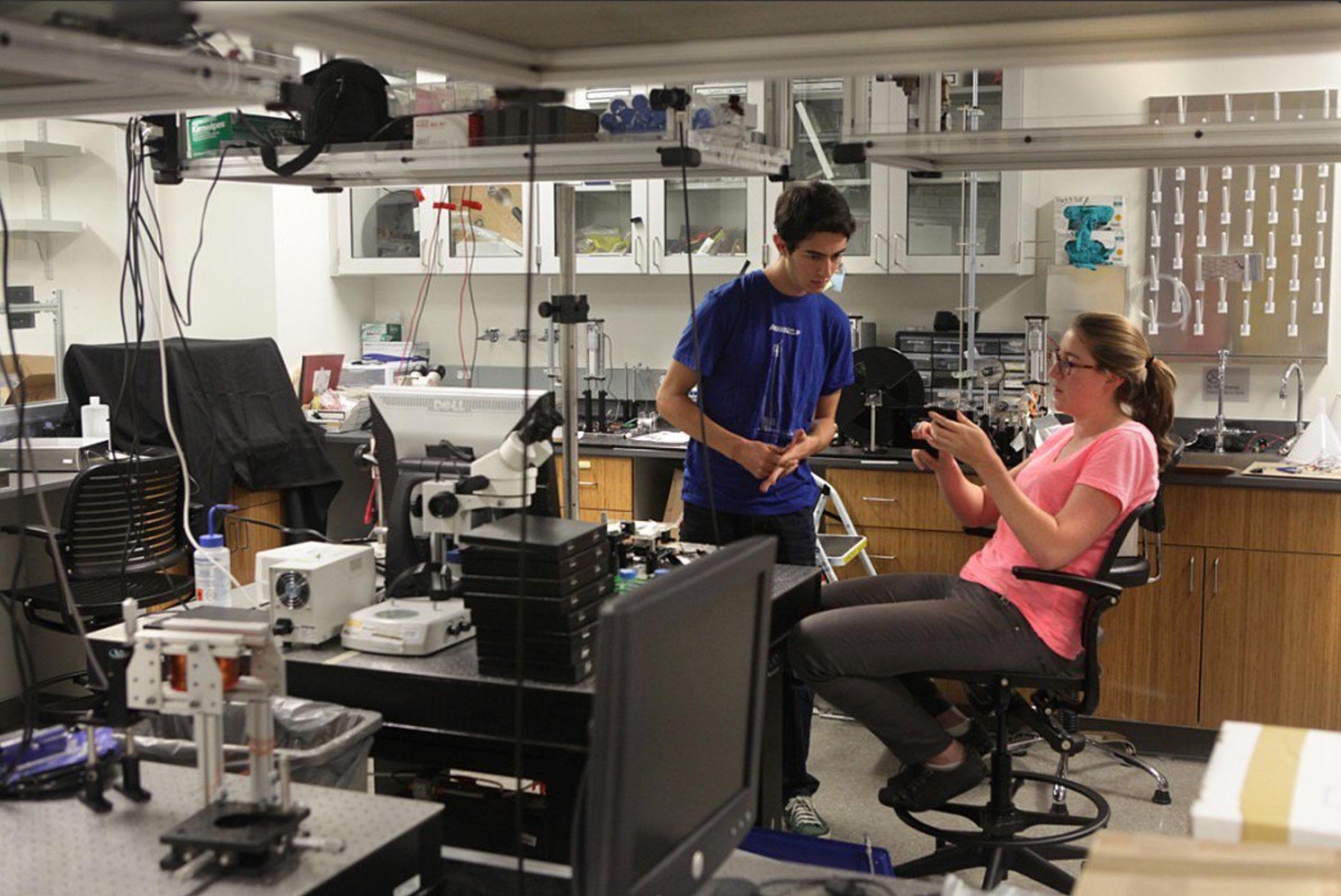 In The Prakash Lab