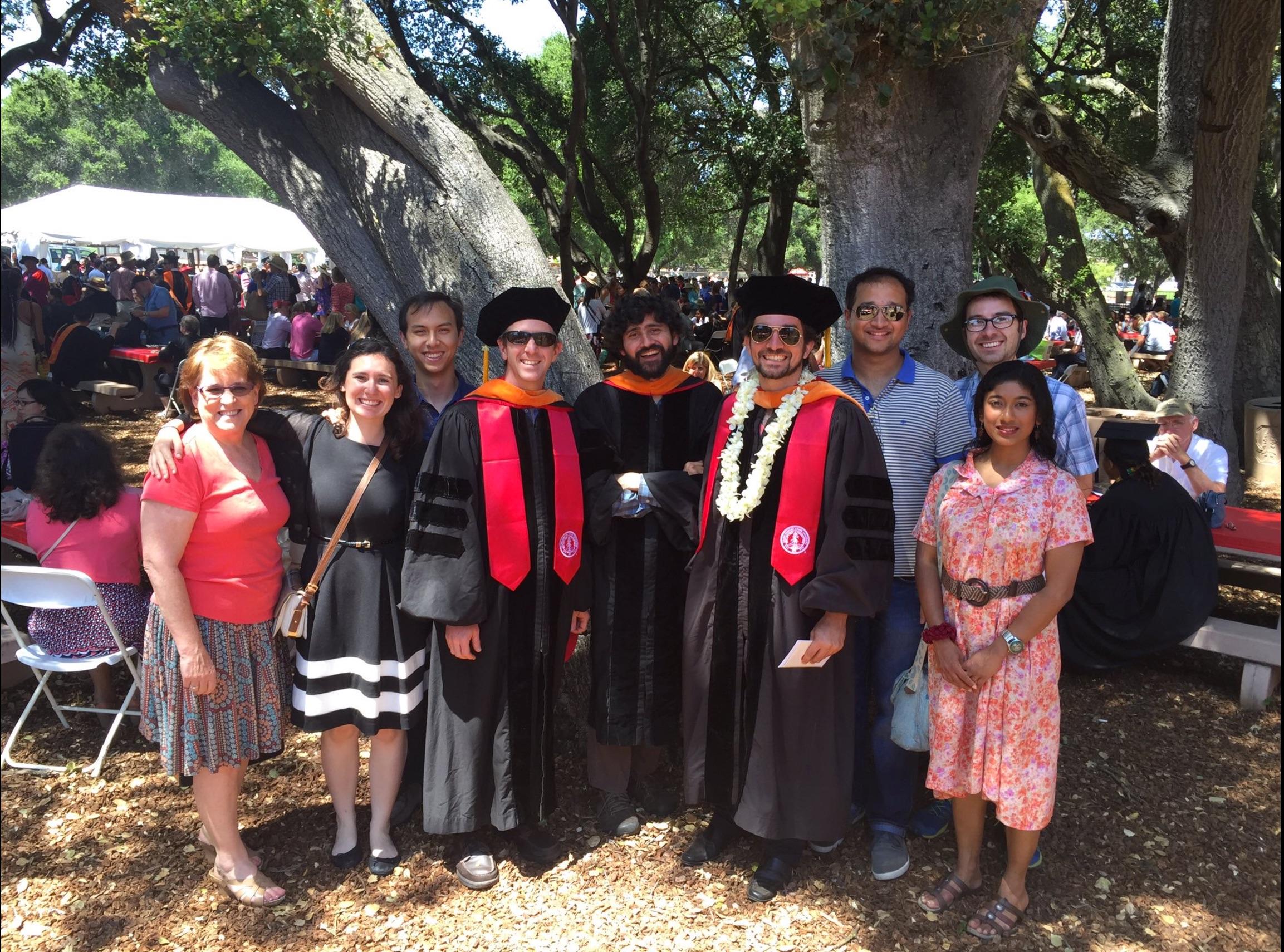 Two PhDs Graduate 2016