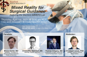 SMMR Panel Discussion: Mixed Reality for Surgical Guidance @ Zoom