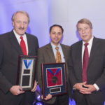 Sam awarded the Society of Nuclear Medicine's 2011 Georg Charles de Hevesy Nuclear Pioneer Award for his contributions to the nuclear medicine profession. Pictured with Markus Schwaiger and Heinz Schelbert.