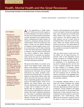 pdf-health and the great recession