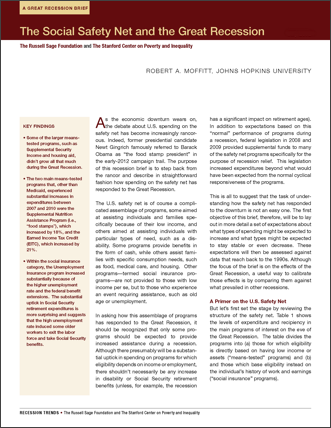 pdf-social safety net and the great recession