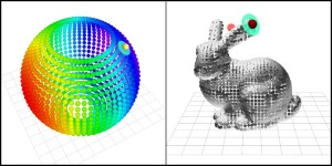 sphere_and_bunny