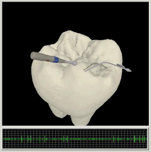 image of dental simulator