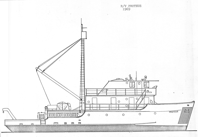 drawing of Proteus from 1969