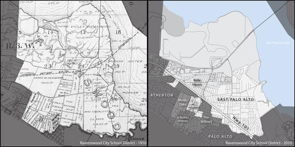 comparison maps