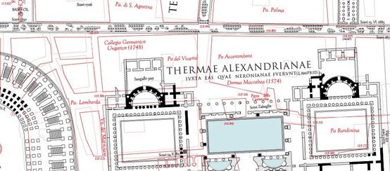Lanciani Map