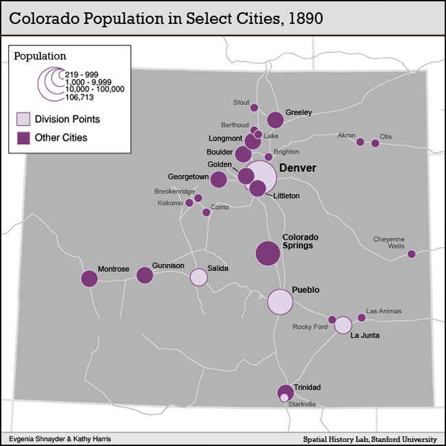 Colorado Elevation: Spatial History Project