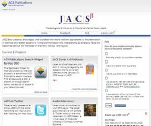 JACS Beta Presents Encourages And Facilitates Innovations New Approaches To The Presentation Of Chemical Related Research Further Communication