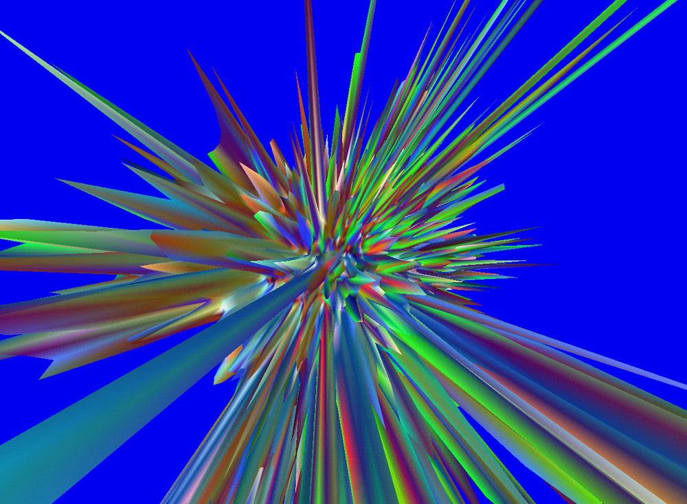 Explodierendes Universum von Andrei Linde