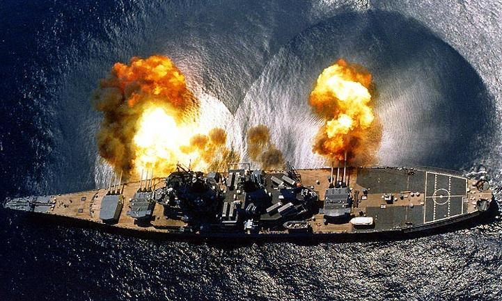 Acorazados Clase Iowa USS_Iowa_Guns
