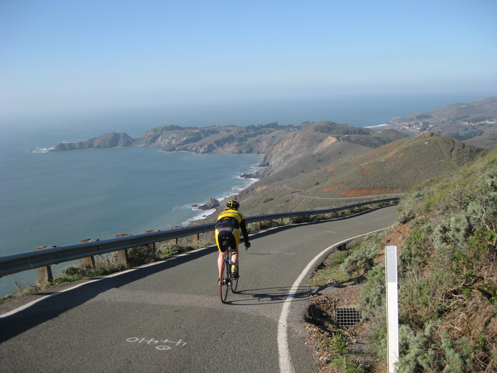 Bike Marin Headlands in the Marin Headlands