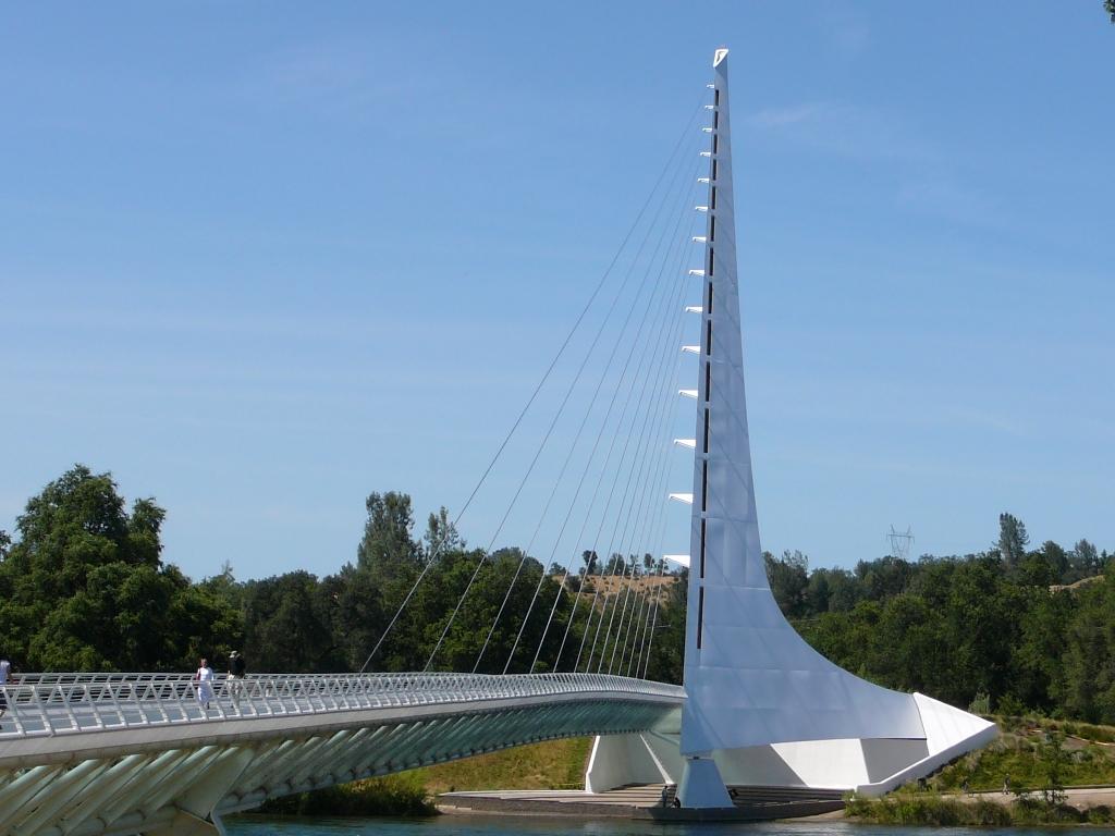 Sundial Bridge Redding Ca