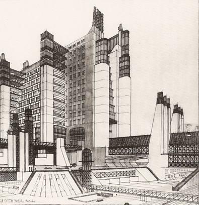 Antonio Sant'Elia's La Città Nuova