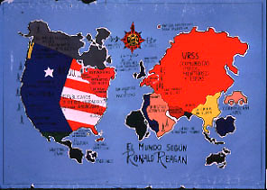 SULAIR AntiUSA Posters - Map us foreign policy