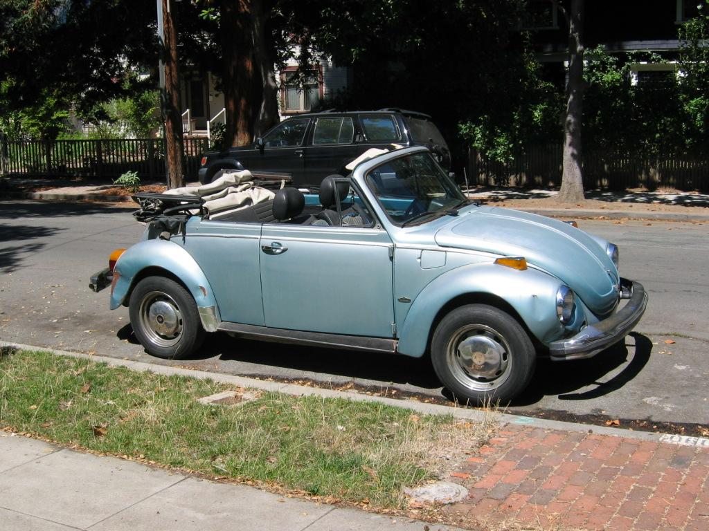 Old Volkswagen Beetle Convertible Vw bug convertible